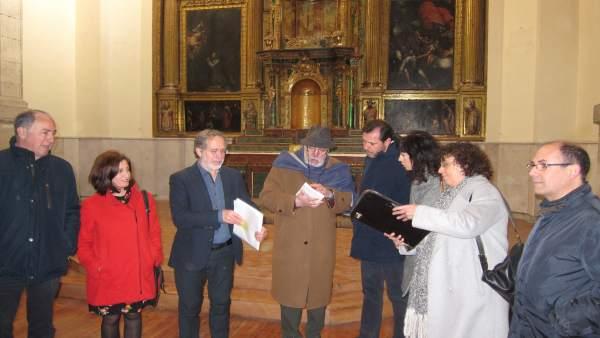 Visita del equipo de Gobierno al Monasterio de Santa Catalina