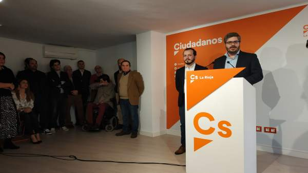 Hervías (Cs): 'El próximo 26 de mayo se teñirán de 'naranja' las instituciones r