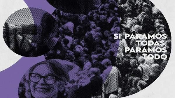 La huelga feminista cobra protagonismo en La Rioja Baja y saca a la luz el traba