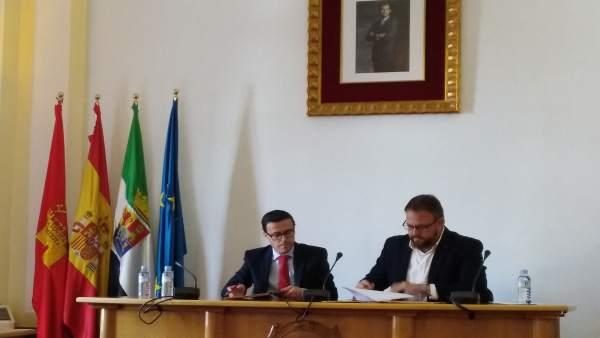 El Polideportivo Diocles de Mérida contará con una nueva pista de atletismo habi
