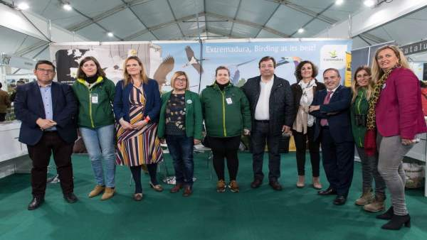Inauguración d ela Feria Internacional de la ornitología