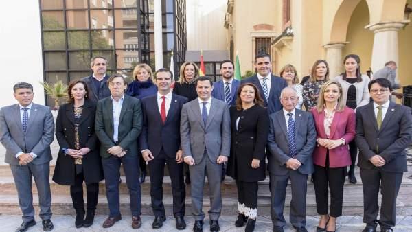 PP afea la inasistencia al acto con Moreno del PSOE, que les reprocha que solo s