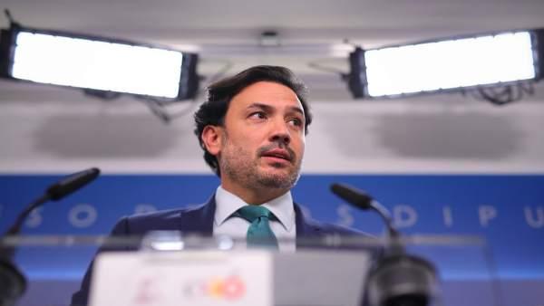 El portavoz adjunto del PP en el Congreso Guillermo Mariscal