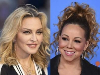 Madonna, Mariah Carey y Whitney Houston