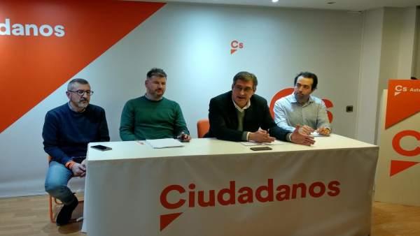 Reunión mensual del Comité Autonómico de Ciudadanos Asturias