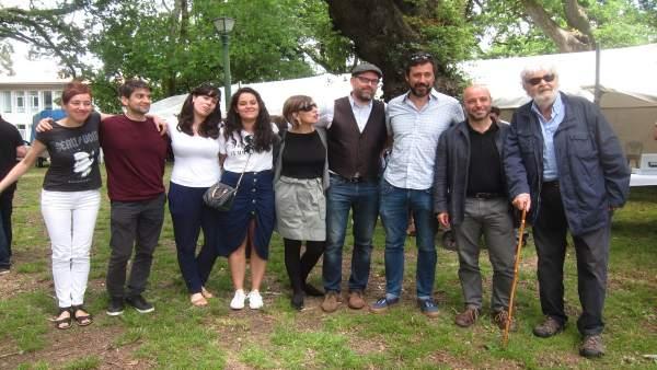 Noriega, Villares, Beiras, Yolanda Díaz, Paula Quinteiro y Gómez-Reino