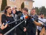 El expte.C.Puigdemont tras reunirse con la Ejecutiva de la AMI.