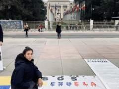 Garbiñe Muguruza se solidariza con Venezuela
