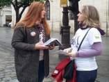 Sevilla.- IU y Participa reclaman 'apoyo real' del Ayuntamiento a la huelga femi