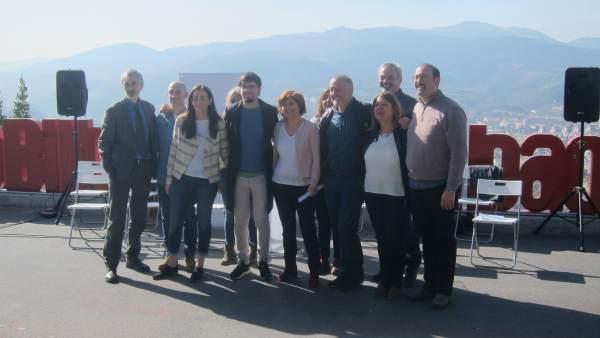 28A.- Podemos Euskadi Presenta A Sus Candidatos Como 'Garantía De Defensa De La