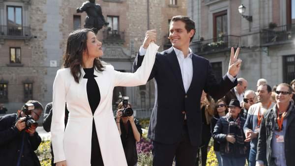 Arrimadas anuncia su salto a la política nacional