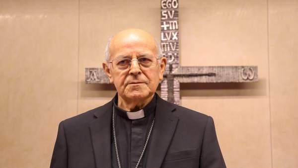 El cardenal Ricardo Blázquez