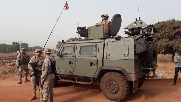 Militares españoles en Mali