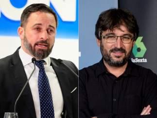 Santiago Abascal y Jordi Évole