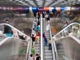 Estación de La Sagrera del Metro de Barcelona.