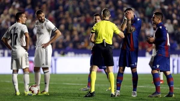 Levante vs. Real Madrid.