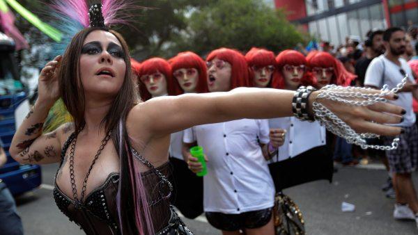Carnaval por la igualdad en Brasil