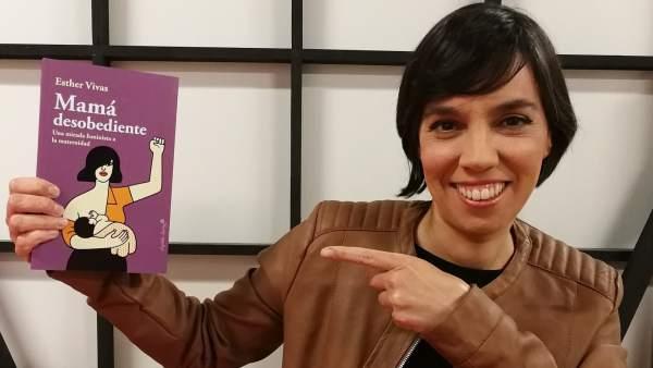 Esther Vivas, autora de 'Mamá desobediente'