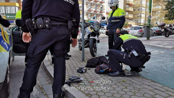 Denuncian a un varón por intentar robar una bici en Nervión y recuperan otra pos