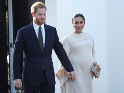 Harry y Meghan Markle en su última visita oficial al extranjero
