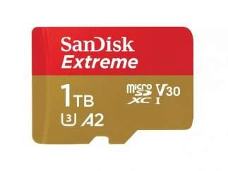Tarjeta microSD de 1 TB