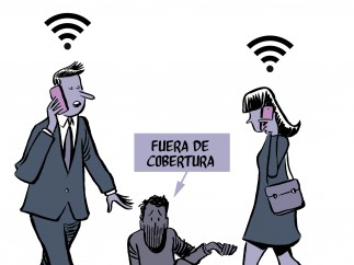 Mobile World Congress, una viñeta de Malagón