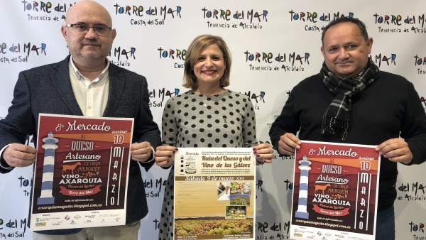 Málaga.- El Mercado de Queso Artesano de la Cabra Malagueña y Vino de la Axarquí
