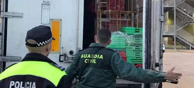 Inmigrante atrapado en un contenedor en Melilla