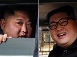 Kim Jong-un y su doble