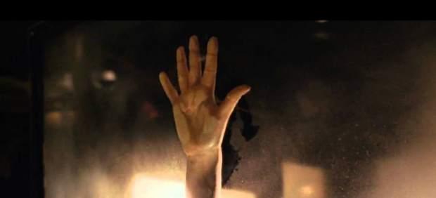La mano de Rose en 'Titanic'