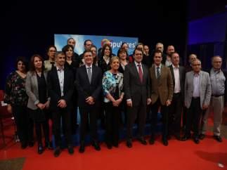 Fernández Mañueco respalda a los candidatos del PP en 26 municipios segovianos