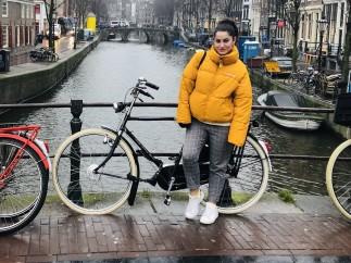 Davinia Motilla, una de las trabajadoras españolas en Holanda