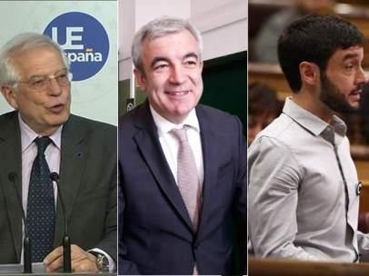 Borrell, Garicano y Bustinduy, candidatos a las europeas