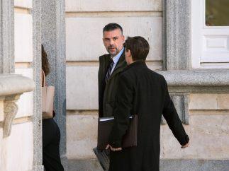 Santi Vila, a su llegada al Supremo