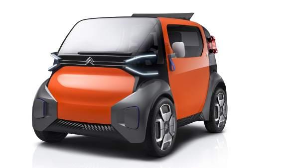 El nuevo coche eléctrico de Citroën que no necesita carnet de conducir.
