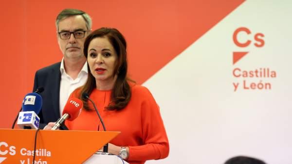 La expresidenta de las Cortes de Castilla y León, Silvia Clemente.