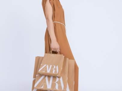 Zara usará bolsas de papel