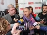 Líderes de CCOO y UGT, Unai Sordo y Pepe Álvarez