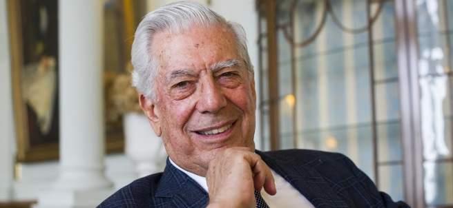 Mario Vargas Llosa, en Santander.
