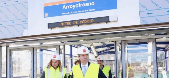 La estación fantasma dará servicio a 220.000 personas.