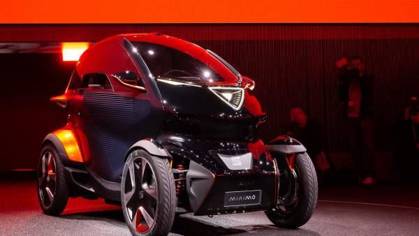 Minimó, el coche eléctrico de Seat.