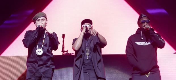 La formación The Black Eyed Peas