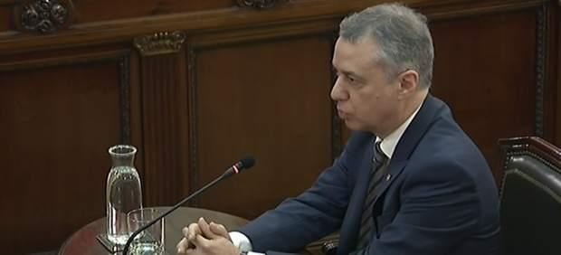 Íñigo Urkullu declara como testigo en el juicio por el 'procés'