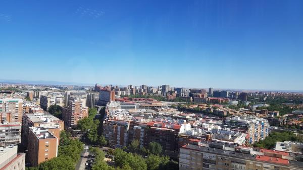 Operación Chamartín, imágenes de Madrid desde el cielo