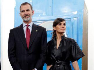 La reina deslumbra en la inauguración de ARCO 2019