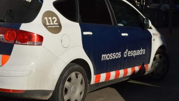 Coche de los Mossos d'Esquadra.