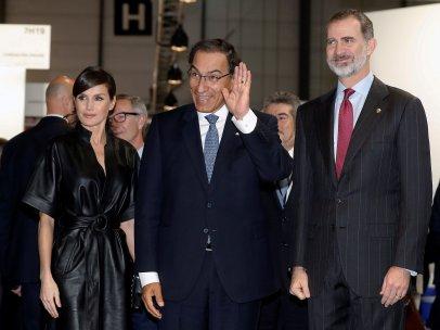 Junto al presidente de Perú