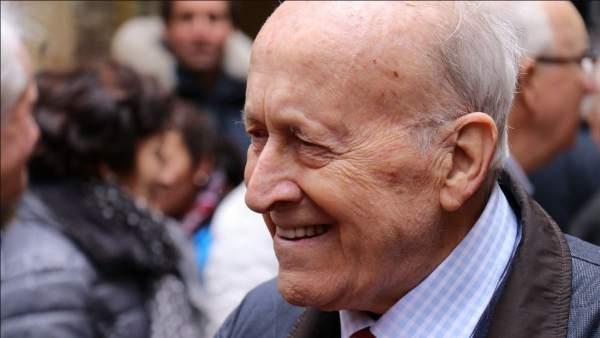 Xabier Arzalluz, expresidente del PNV.