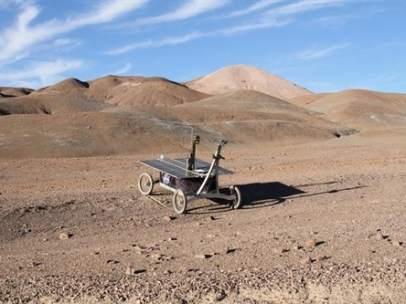 Una misión de la NASA en el desierto de Atacama.