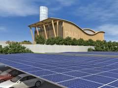 Las redes distribuyen el calor generado en una planta por fuentes renovables.